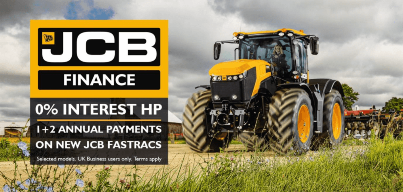 0% INTEREST HP ON SELECTED FASTRAC, LOADALL & TELEMASTER MODELS DELIVERED BEFORE 31/12/2018