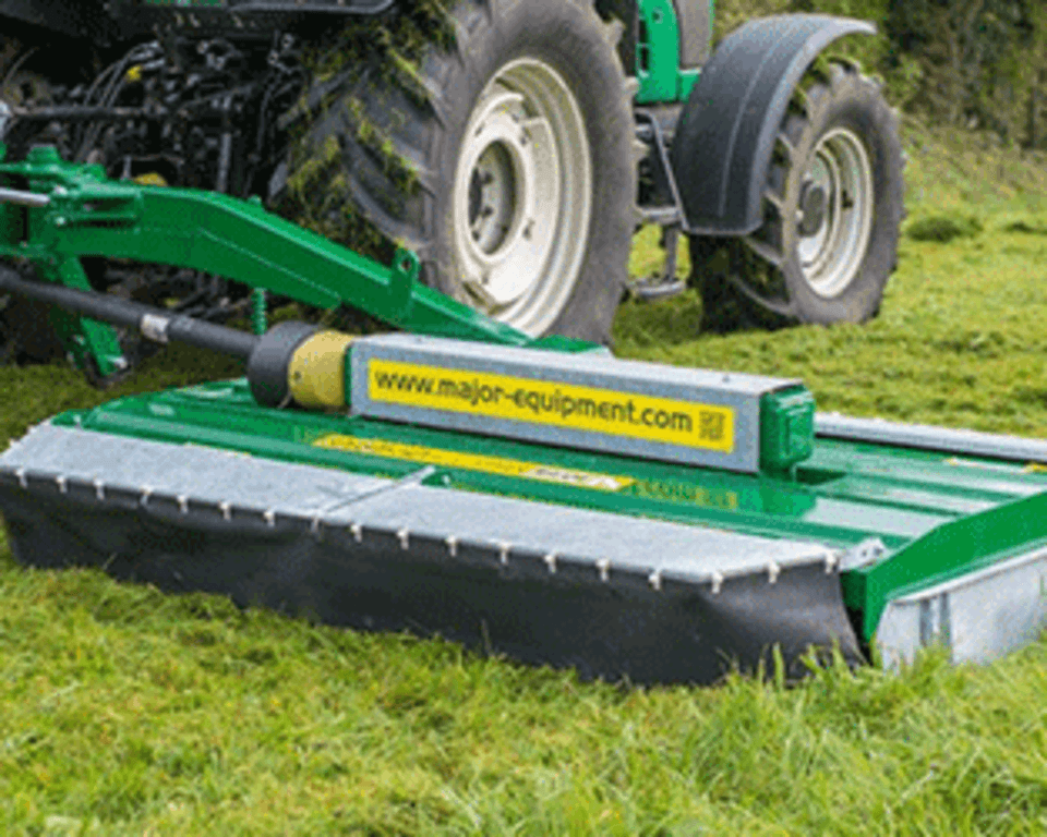 Side Mounted Grass Topper Cover