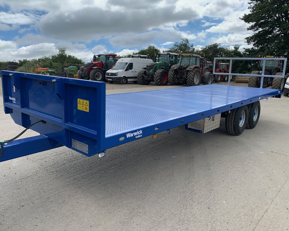 Warwick 25ft Flat trailers 11024655/56/57