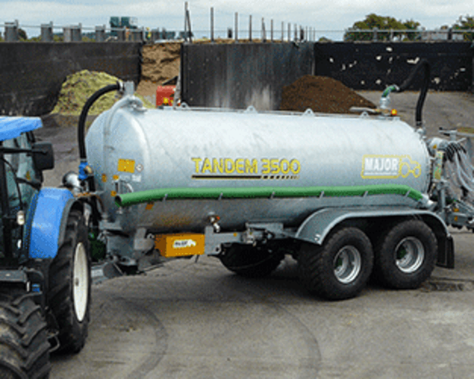 3500 Tandem Axle AD Tanker Cover
