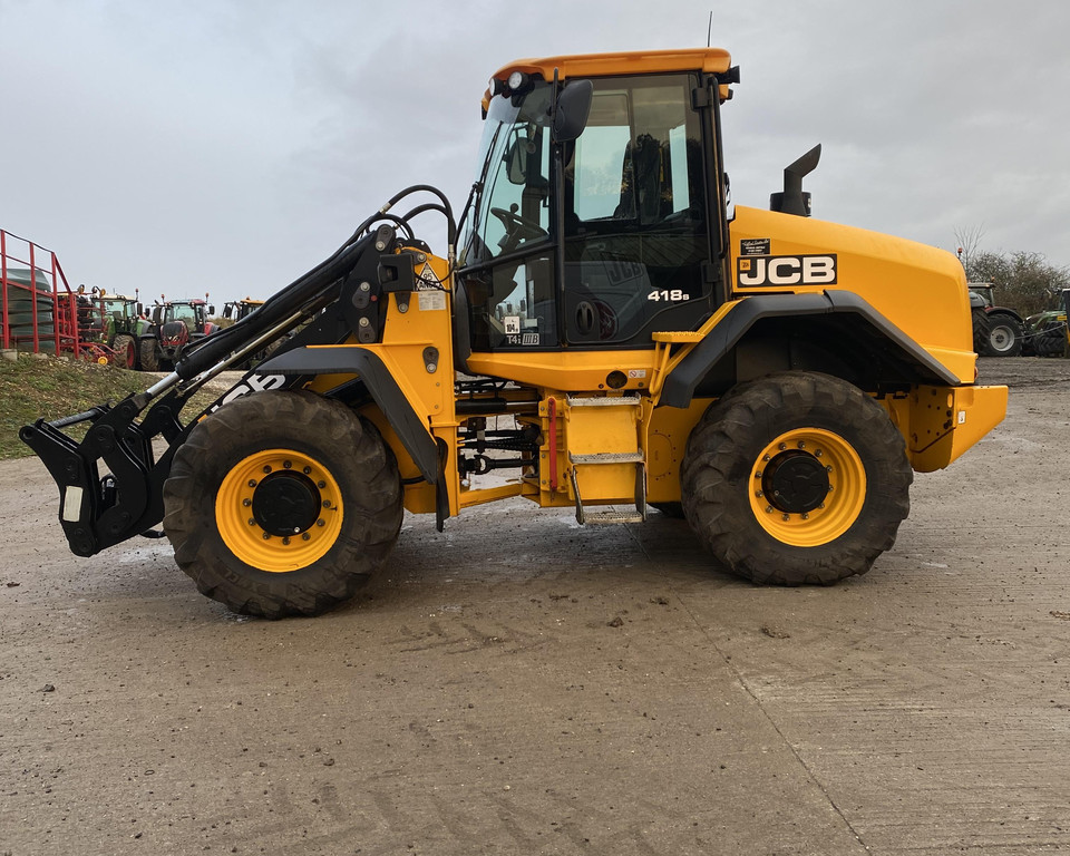 JCB 418S Loading Shovel (JA)